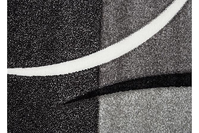 Friezematte London Patch 80x250 - Svart - Innredning - Tepper & Matter - Mønstrede tepper