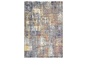Teppe flerfarget 80x150 cm PP