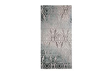 Orientalsk Teppe Emma Medallion 80x250 cm Turkis