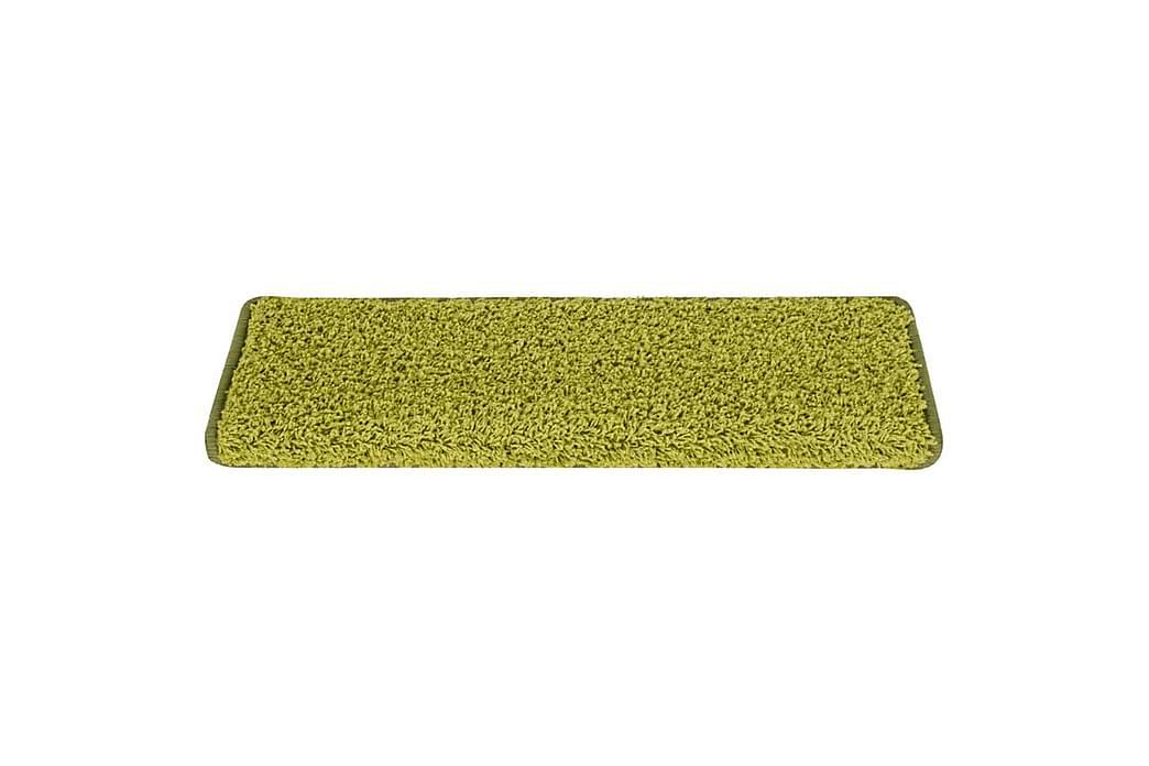 Trappetrinnstepper 15 stk 65x25 grønn - grønn - Innredning - Tepper & Matter - Trappetrinnstepper