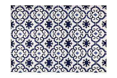 Matte Marrakech 160x230 Blå