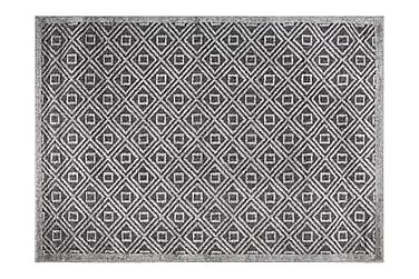Matte Asti 120x170 cm Mørkgrå/Grå