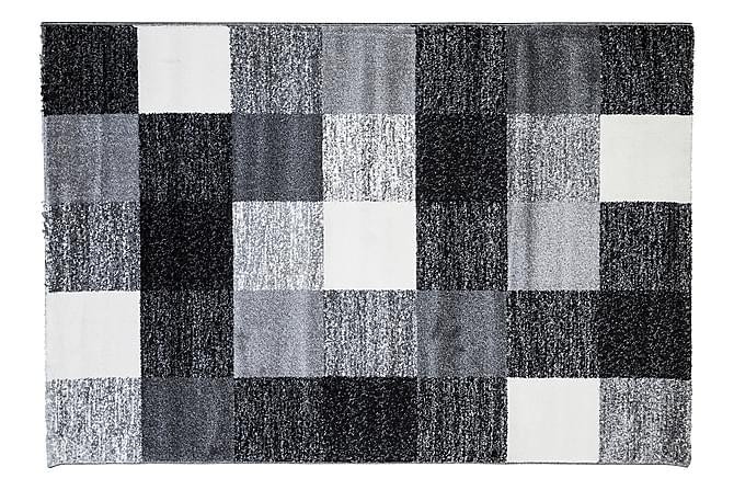 Matte Valdas 200x290 cm - Svart|Grå|Hvit - Innredning - Tepper & Matter - Mønstrede tepper