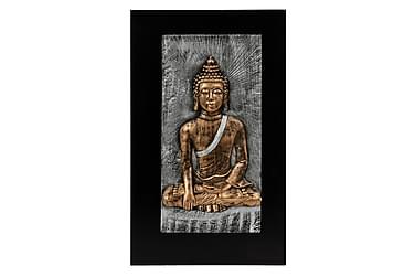 Bilde Buddah Antikkmessing