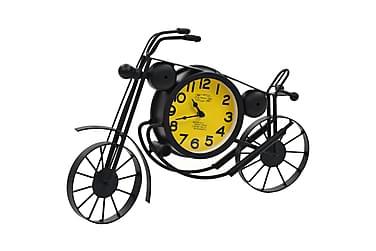 Veggklokke gammeldags motorsykkel