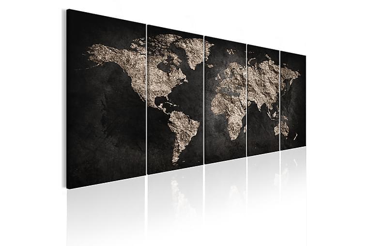 Bilde World Full Of Secrets 225x90 - Finnes i flere størrelser - Innredning - Veggdekorasjon - Lerretsbilder