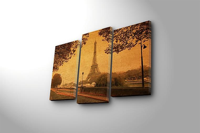 Canvasbilde Kitchen 3-pk Flerfarget - 22x03 cm - Innredning - Veggdekorasjon - Lerretsbilder