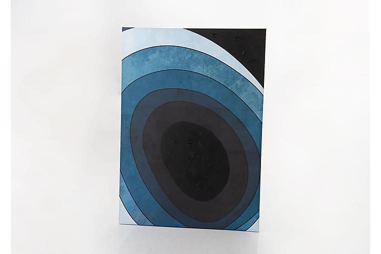Canvasbilde Vuono - Blå - Innredning - Veggdekorasjon - Lerretsbilder