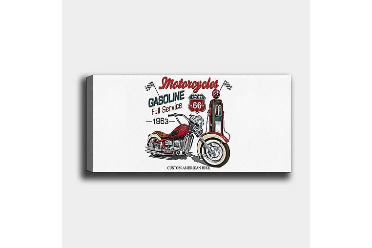 Canvasbilde YTY Transportation Flerfarget - 120x50 cm - Innredning - Veggdekorasjon - Lerretsbilder