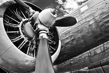 Kanvas Airplane 80x120 cm