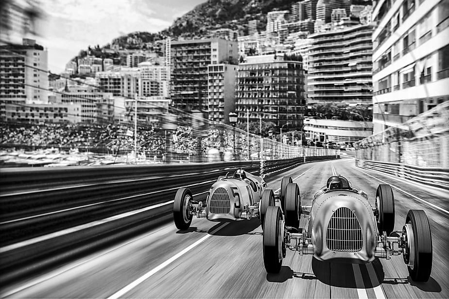 Kanvas Monte Carlo 80x120 cm