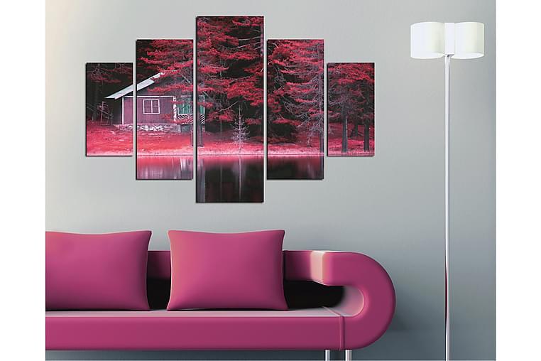MDF-bilde Dekorativ 5 Deler - Flerfarget - Innredning - Veggdekorasjon - Lerretsbilder