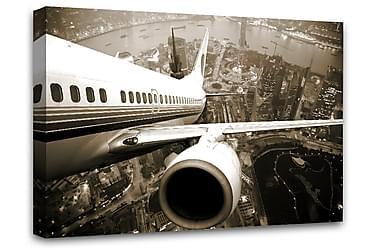 Samolot Bilde Canvas 75x100 cm