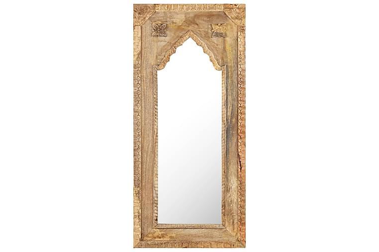 Speil 50x3x110 cm heltre mango - Brun - Innredning - Veggdekorasjon - Speil