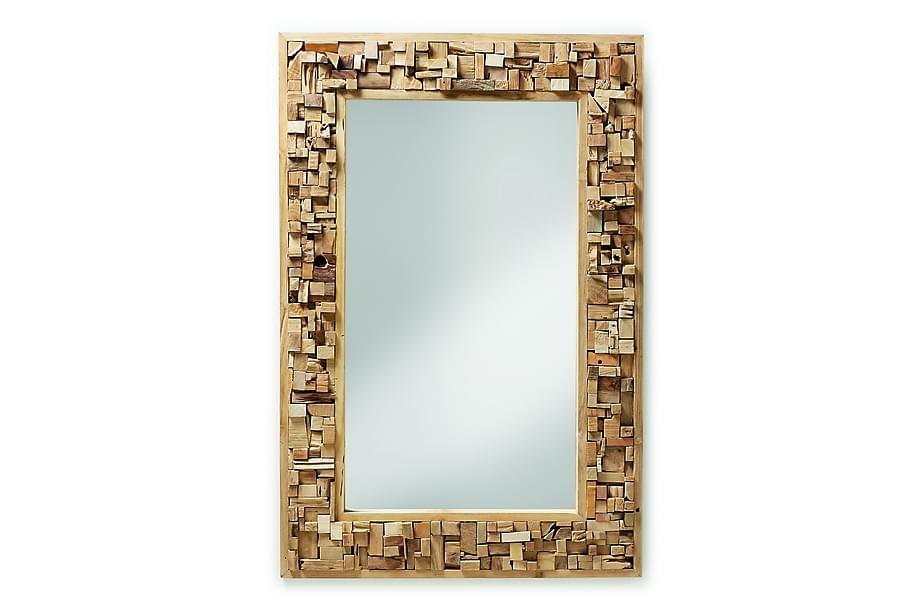 Speil Yalana 80/7 cm Teak