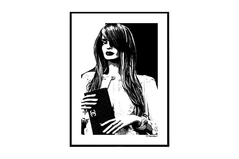 Poster Chanel doll - Finnes i flere størrelser - Innredning - Veggdekorasjon - Posters