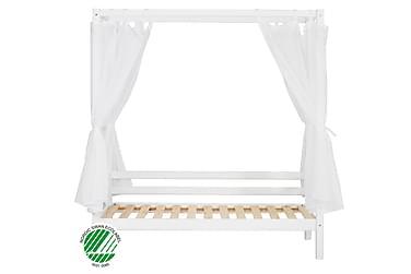 Himmelseng Basic 90x200 med Transparent Stoff Hvit