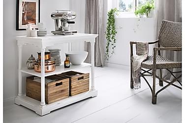 Kjøkkenoppbevaring Spisebordeaux 90 cm