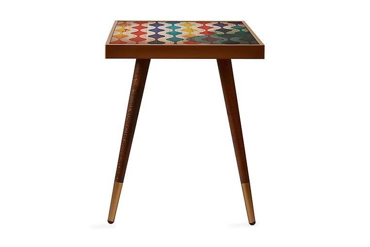 Avlastningsbord Aspbacken 45 cm - Flerfarget - Innredning - Små møbler - Brettbord og småbord