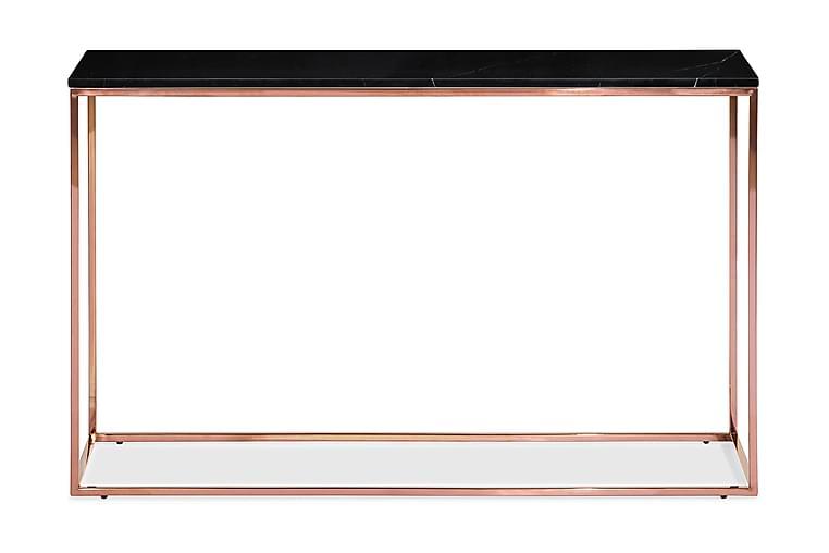 Avlastningsbord Titania 120 cm Marmor - Svart Kobber - Møbler - Bord - Konsollbord & avlastningsbord