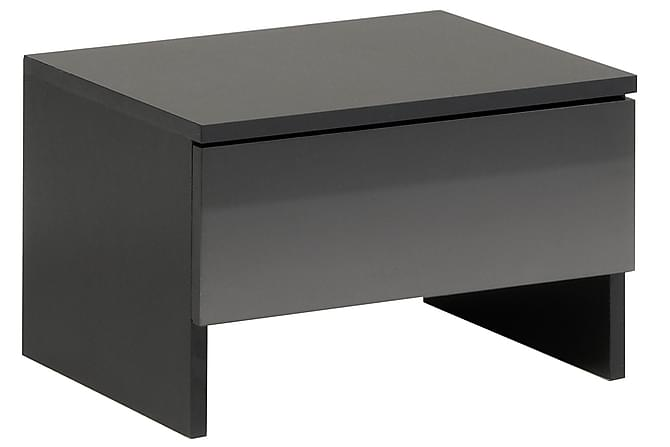 Nattbord Steven 44 cm - Svart - Møbler - Bord - Sengebord & nattbord