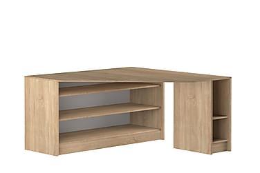 Hjørneskrivebord Kramer 94 cm med Hyller