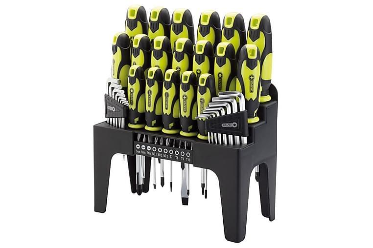 Draper Tools Sett skrutrekker, unbrakonøkkel & bits 44 deler - Møbler - Bord - Sofabord