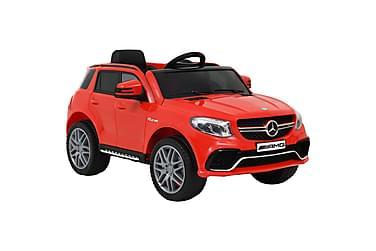 Elektrisk barnebil Mercedes Benz GLE63S plast rød
