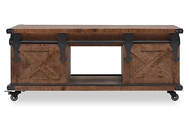Salongbord heltre gran 91x51x38 cm brun