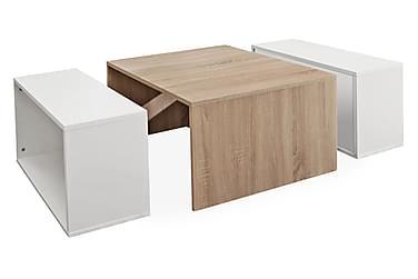 Sofabord Casimir Hvit/Eik