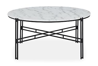 Sofabord Sisko 100 cm rundt Marmor
