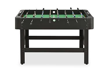 Fotballbord 118x95x79 cm svart
