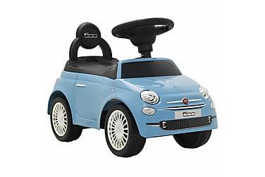 Gåbil Fiat 500 blå