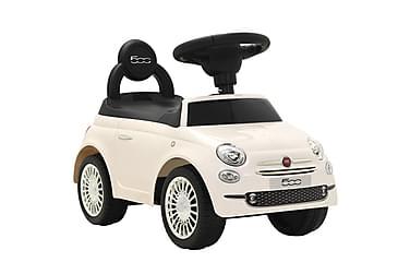 Gåbil Fiat 500 hvit