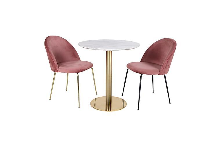 Spisebord Emington 110 cm - Hvit - Møbler - Bord - Spisebord & kjøkkenbord