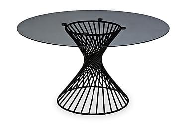 Spisebord Jada 140 cm Rund Glass