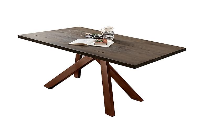 Spisebord Raital 240 cm - Grå/Brun - Møbler - Bord - Spisebord & kjøkkenbord