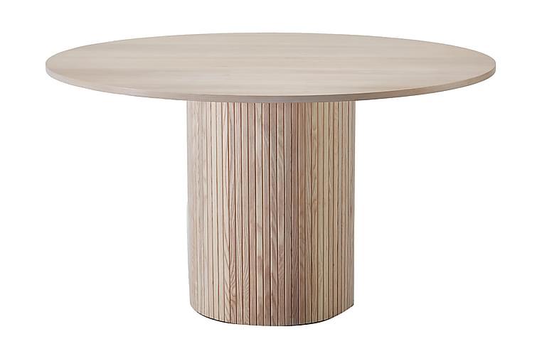 Spisebord Rundt Uppveda 130 cm - Hvit - Møbler - Bord - Spisebord & kjøkkenbord