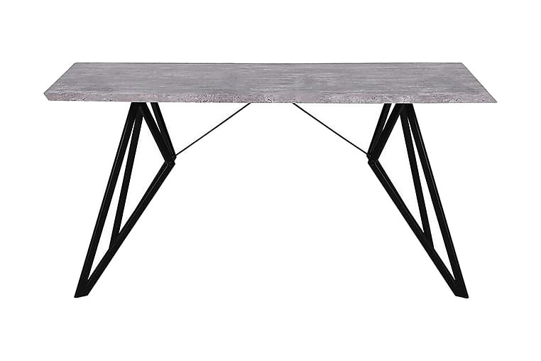 Spisebord Sadaka 160x90 cm - Grå - Møbler - Bord - Spisebord & kjøkkenbord