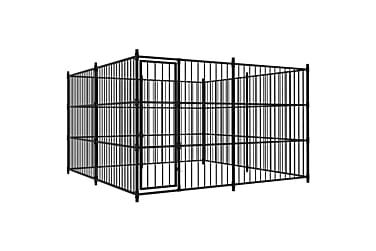 Utendørs hundegård 300x300x185 cm