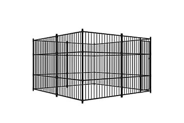 Utendørs hundegård 300x300 cm