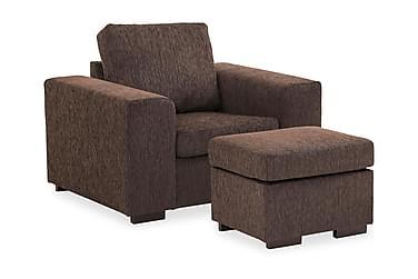 Sofagruppe Connect Lenstol+Fotskammel 70 cm