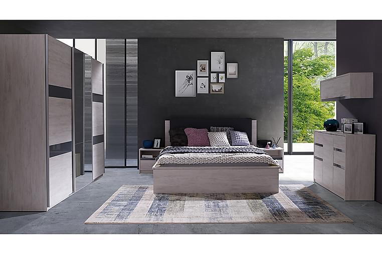 Soveromsett Denver - Blå/Hvit - Møbler - Møbelsett - Møbelsett til soverom