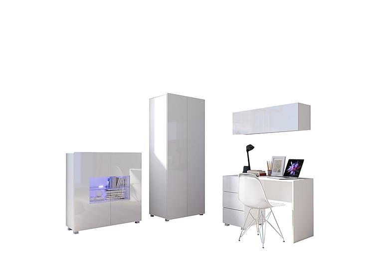 Møbelsett Calabrini - Hvit - Møbler - Møbelsett - Møbelsett til stue