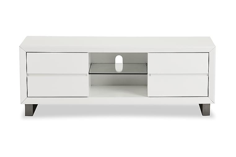 TV-benk Base 150 cm - Hvit - Møbler - TV- & Mediamøbler - TV-benk & mediabenk