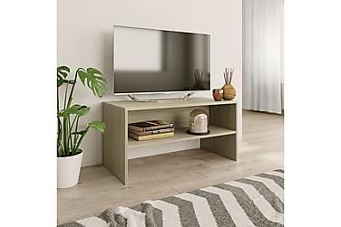 TV-benk sonoma eik 80x40x40 cm sponplate