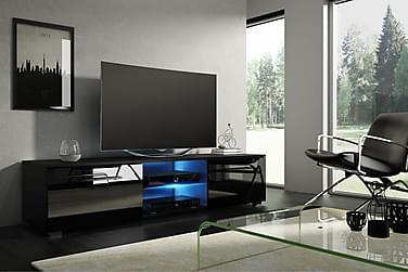 TV-benk Terisa 140 cm LED-belysning