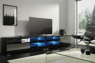 TV-benk Terisa 200 cm LED-belysning