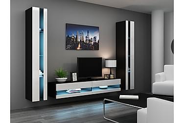 Mediamøbel Vigo 260x40x180 cm