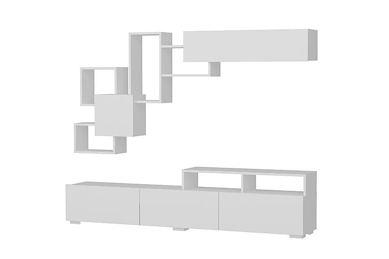 TV-benk Ahinir - Møbler - TV- & Mediamøbler - TV-møbelsett